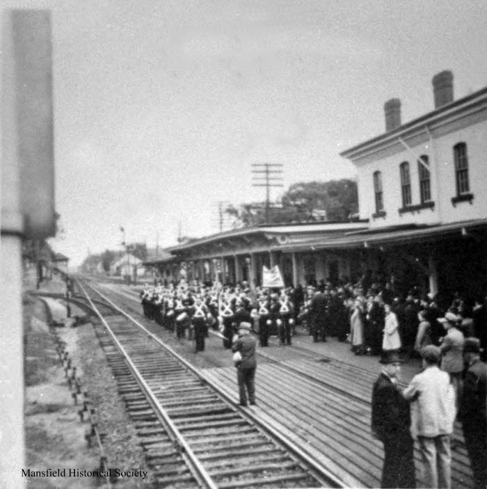 Railroad Station event - year unknown